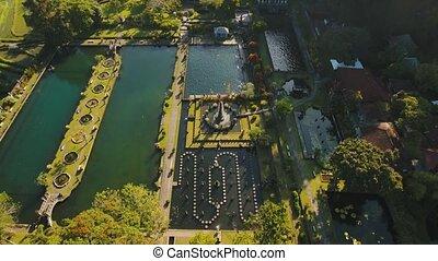 Tirta Gangga on Bali. Hindu temple. - Hindu Balinese Water...