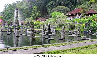 Tirta Gangga water palace on Bali
