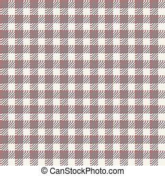 tischdecken, muster, checkered, -, endlos