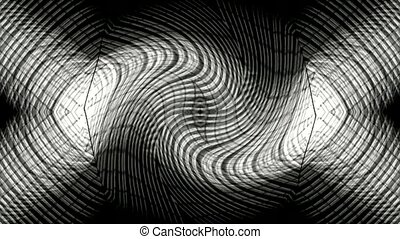 tissage, blanc, fil, optique, fibre