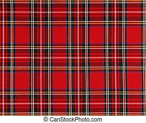 tissu, écossais