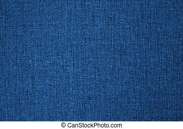 tissu bleu, texture