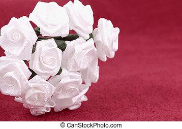 tissu, fleurs