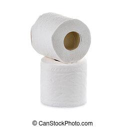 tissu, fond, papier, blanc