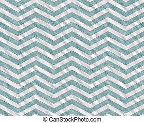 tissu, fond, zigzag, sarcelle, textured, blanc, pâle