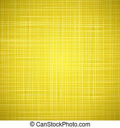 tissu, jaune, texture, fond