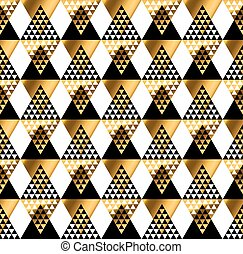 tissu, mode, géométrie, pattern., tribal, moderne, emballage, seamless, papier, indien amérique, luxe, fond