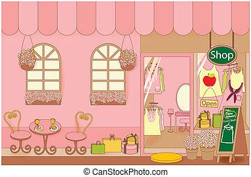 tissu, shop01