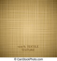 tissu, texture, arrière-plan beige