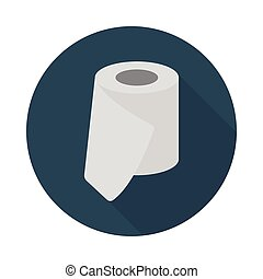 tissue flat icon