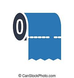 tissue glyph color icon