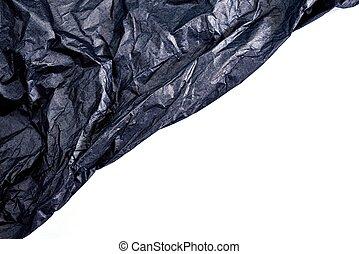 A studio photo of tissue paper