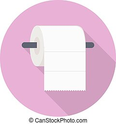 tissue vector flat color icon