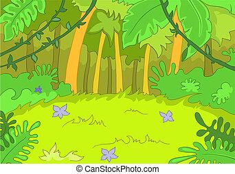 tisztás, jungley