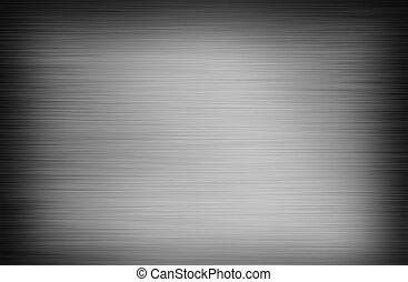titânio, abstratos, cinzento, fundo