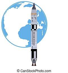 «titan-2», booster