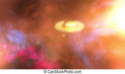 Titan Reveals Wide of Saturn - Titan's Moon Reveals a Wide ...