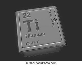 Titanium chemical element periodic table science symbol stock titanium chemical element urtaz Gallery