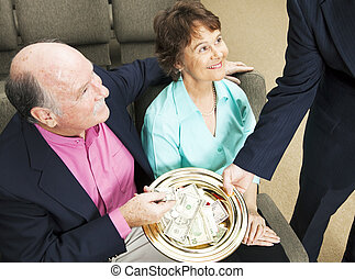 Tithing in Church