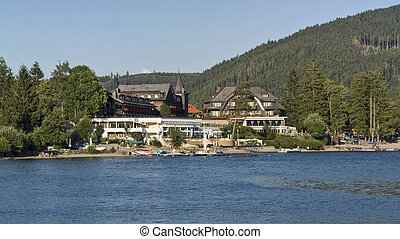 Titisee - scenery around the Titisee, a lake in the Black...