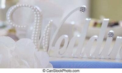 Title wedding - Panorama along decorative inscriptions...
