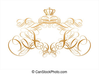 titling frame - Vector ornamental elements. Suggested uses:...