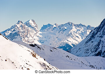 Titlis mountain range - Titlis mountain range, view from...