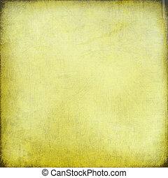 tiza, rasguño, fondo amarillo