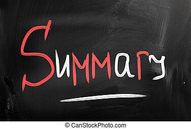 """tiza, """"summary"""", manuscrito, pizarra"""
