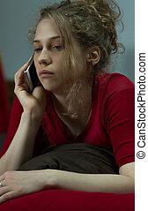 tizenéves, birtoklás, konfliktus, noha, barát