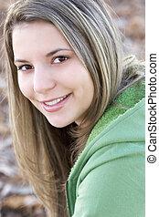 tizenéves lány