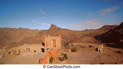 tizi-n-tazazert, marokko, Luftaufnahmen, Spur