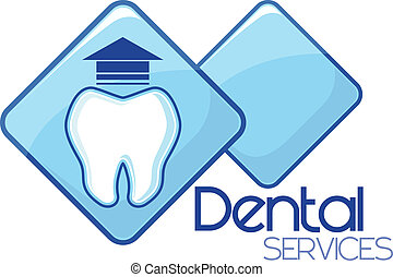 tjänsten, extraktion, dental, design