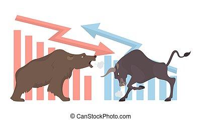 tjur, och, bear.