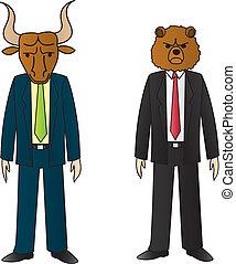 tjur och björn