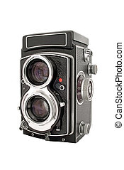 TLR Camera - A twin lens reflex 6x6 camera from the 1960's
