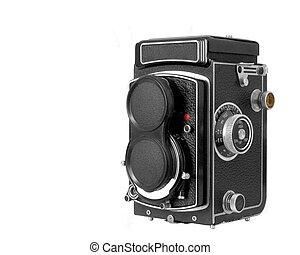 Tlr Medium Format Camera - A classic twin lens reflex medium...
