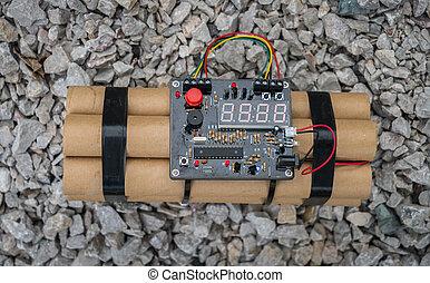 TNT time bomb  - TNT time bomb