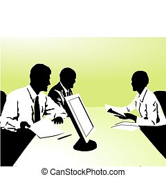 to be in a meeting