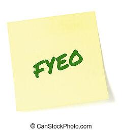 to-do, クローズアップ, 情報, 敏感, initialism, あなたの, 大きい, 上, 分類された, newsletter, 機密性, メモ, セキュリティー, 詳しい, メモ, オペレーション, 隔離された, 付せん, 黄色, 頭字語, 概念, インフォメーション, 緑, 書かれた, 通知, ポストそれ, リスト, テキスト, 文書, クローズアップ, メッセージ, 秘密, ブレティン, 省略, (opsec), 目, fyeo, プライバシー, ∥たった∥, マーカー, 比喩, マクロ, 機密, 秘密, 手紙, ステッカー