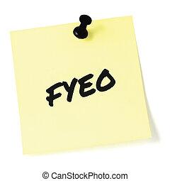 to-do, クローズアップ, 情報, 敏感, initialism, あなたの, 大きい, 上, pushpin, 分類された, newsletter, 機密性, メモ, セキュリティー, 画鋲, 詳しい, メモ, オペレーション, 隔離された, 付せん, 黄色, 頭字語, 概念, インフォメーション, ステッカー, 黒, 書かれた, 通知, ポストそれ, リスト, テキスト, 文書, クローズアップ, メッセージ, 秘密, ブレティン, 省略, (opsec), 目, fyeo, プライバシー, ∥たった∥, マーカー, 比喩, マクロ, 機密, 秘密, 手紙