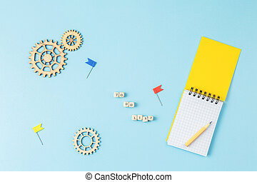 To do list. Concept photo illustrations
