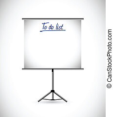 to do list presentation illustration design