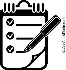 To Do List Vector Illustration