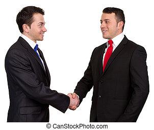 to, forretningsmand