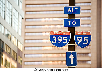 To Interstate 95