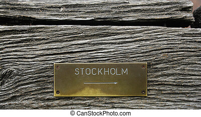 To Stockholm