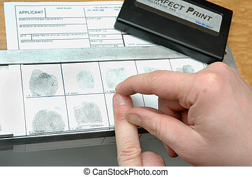 to take off the fingerprints on id card