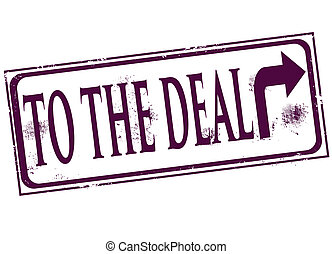 to the deal stamp