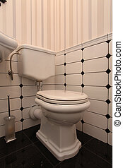 toaleta, dávný podoba